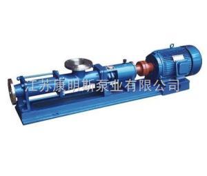 G型单螺杆泵 康明斯泵业
