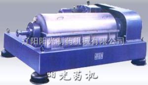 单电机卧式螺旋卸料沉降离心机