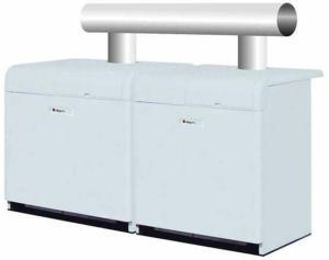 意大利進口模塊鑄鐵燃氣熱水鍋爐