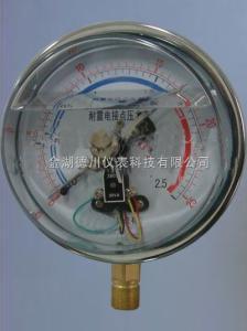 耐震電接點壓力表價格