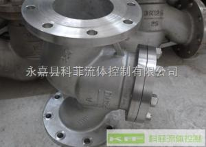 H41W水平管道安装不锈钢升降式止回阀