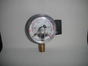 60MM径向250KG普通型电接点压力表