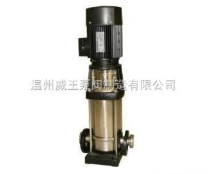 QDLF系列轻型不锈钢立式多级管道泵生产厂家,价格,结构图