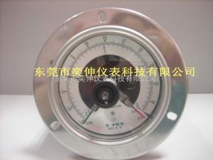 DT100SUS-(-1+3KG)-AB-3/8真空電接點壓力表泡沫機械-1+3KG電接點壓力表