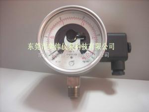 AT100-25KG-AB-3/8电接点压力表黑龙江体彩全不锈钢电接点压力表