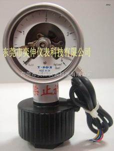 AT65-4KG-AB-1/2PP隔膜電接點壓力表65MM徑向PP隔膜電接點壓力表
