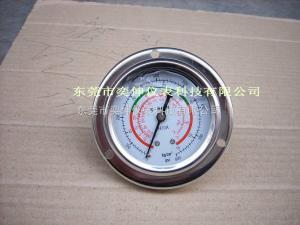 DT63-55KG-7/16冷媒充油表y-son高低壓耐震冷媒充油表壓力表