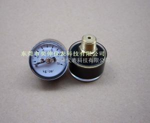 AD25-10KG-1/8迷你氣壓表25MM迷你塑殼氣泵壓力表