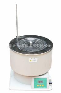HWCL-5帶有不銹鋼水浴鍋集熱式恒溫磁力攪拌浴