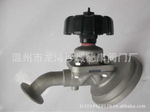 不锈钢316L罐底阀(图);盖米式罐底隔膜阀