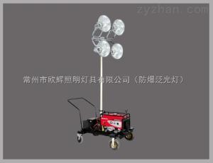 SFW6110供應全方位自動泛光工作燈,配本田發電機,遙控升降移動照明車