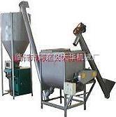 臨沂膩子粉攪拌計量包裝生產線(自動化)