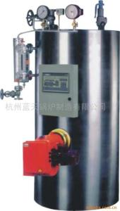 LHS0.05-1.0, 0.05-1 t/h & 0.4-1.0MPa立式燃油气蒸汽锅炉