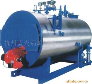 WNS0.5-6 :0.5-6 t/h ,0.7-2.5MPa卧式燃油气蒸汽锅炉