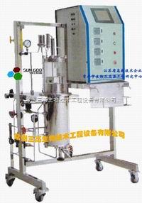 SGBL/SGBZ發酵罐    氣升式玻璃發酵罐