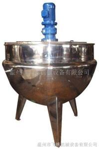 蒸汽固定式带搅拌夹层锅
