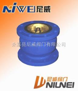 H41X铜芯消声止回阀