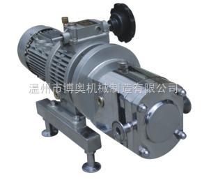 TRA博奧不銹鋼衛生級凸輪轉子泵