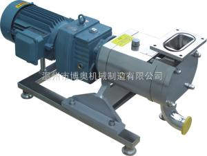 TRA博奧不銹鋼高粘度輸送轉子泵