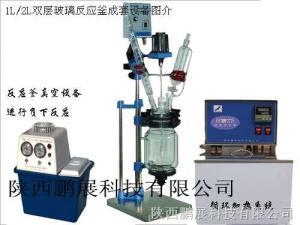 SF-1D/SF-2D/SF-3D/SF-5D小容量系列双层玻璃反应釜