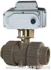 DN15-250UPVC電動球閥,電動閥門,電動調節閥