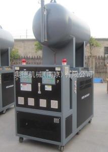 山東橡膠輪胎硫化膠囊模具用雙控溫油模溫機