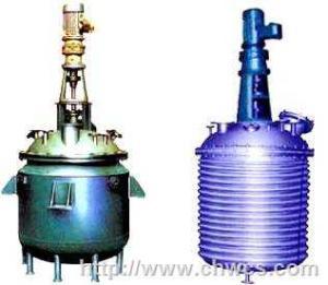 蒸汽加熱導熱油循環加熱反應鍋