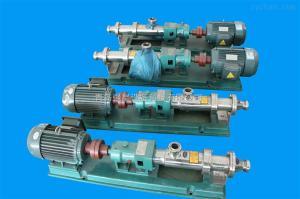 單螺桿濃漿泵