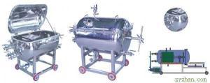 CXAS-3型封閉可加溫不銹鋼廂式板框壓濾機