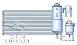 一效動態循環低溫濃縮器