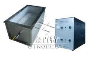 單槽直連式料件靜態超聲波清洗機