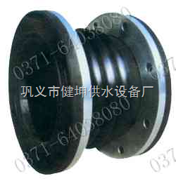 水泵进出口专用橡胶接头,不锈钢橡胶接头