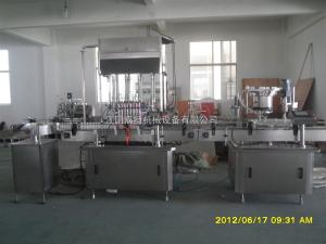 护理液灌装生产线