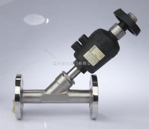 BDJ-06Fburkert流量調節氣動角座閥