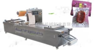 DZL-420R薯塊全自動軟膜拉伸真空包裝機DZL-420R