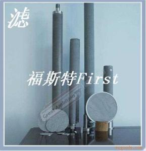 齊全制藥蒸汽設備專用燒結濾清器濾芯濾筒