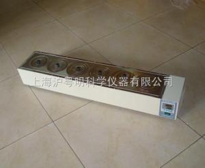 電熱恒溫水浴鍋HH.SII-6-S/上海賀德單列六孔水浴鍋