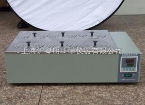 電熱恒溫水浴鍋HH.S2I-8-S/上海賀德雙列八孔水浴鍋