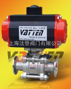 VT2CD33A氣動衛生級球閥,卡箍式衛生級快裝球閥,不銹鋼316拋光球閥
