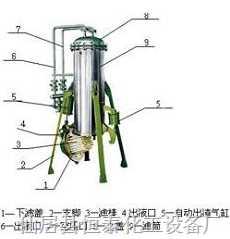 ZBLZ系列自動出渣棒式精密過濾器