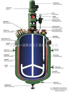 K50-K30000L搪玻璃反应釜