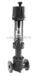 進口電動波紋管單座調節閥-進口電動調節閥德國羅博特RBT