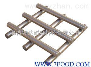 篩分機械里的除鐵機械食品除鐵強磁棒
