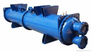 海水冷凝器-海水換熱器-耐腐蝕冷凝器-制冷配件