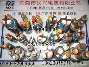 VV,VV22,YJV,YJV22,BV,BVV...東莞民興電線電纜,電力電纜,名牌/免檢,廠家直銷
