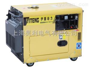 YT6800T-ATS全自動三相柴油發電機5KW 伊藤動力