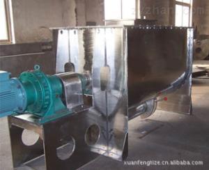 供應螺條混合機用于固-漿(即粉體于膠漿液)的物料混合
