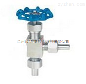 J24WJ24W-160P外螺紋焊接式針型閥 不銹鋼角式對焊針型閥 儀表閥